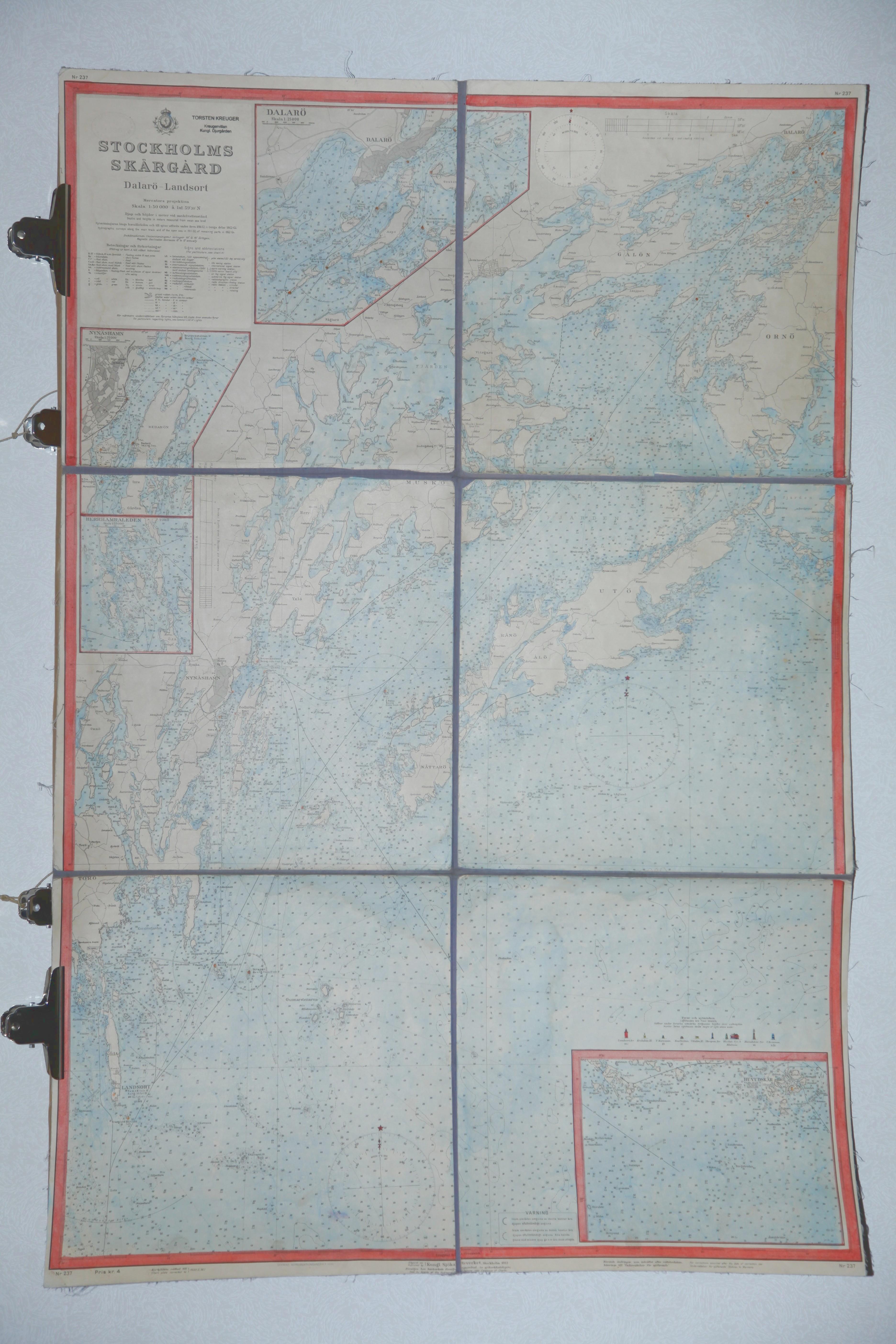 karta stockholms mellersta skärgård