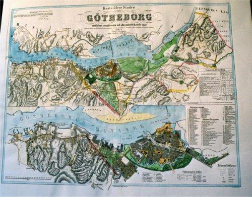topografisk karta göteborg