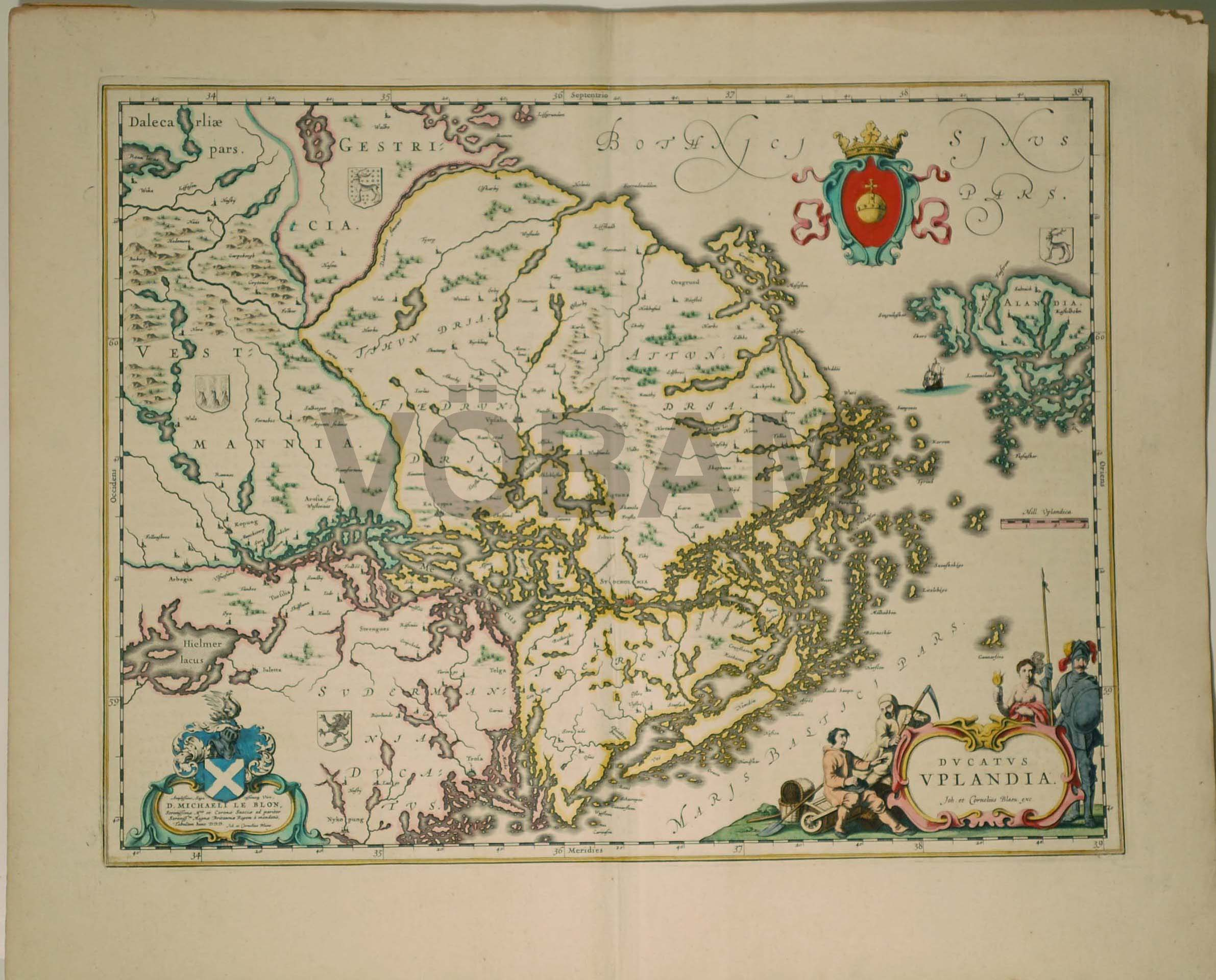 karta över södra dalarna VÖBAM   Bilder och kartor från hela världen, antika och nytryck. karta över södra dalarna