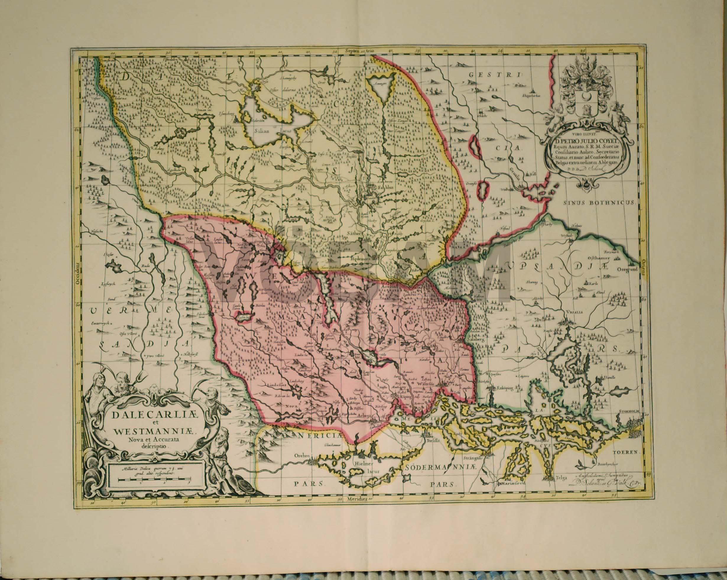 karta södra dalarna VÖBAM   Bilder och kartor från hela världen, antika och nytryck. karta södra dalarna